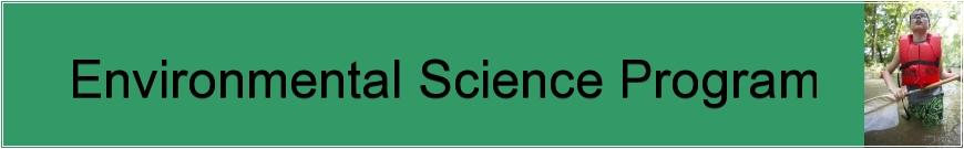 Environmental Science Banner