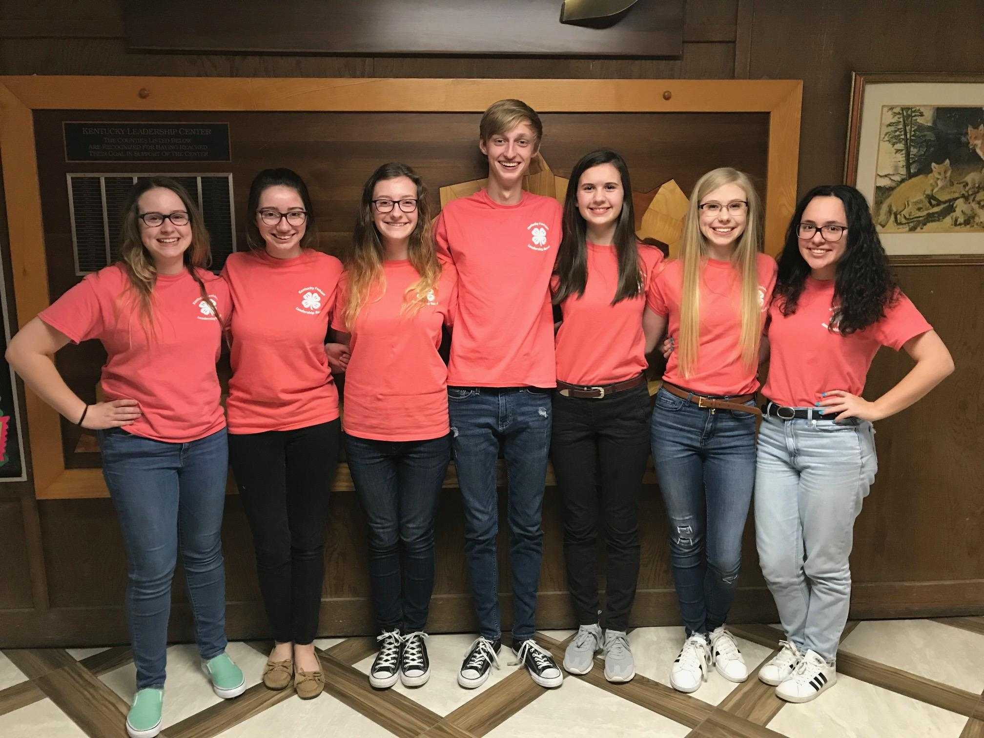 2018-19 Kentucky 4-H Fashion Leadership Board