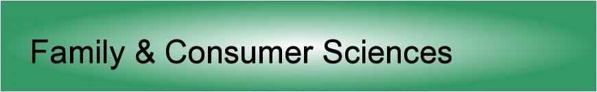 Family & Consumer Sciences