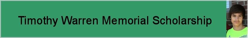 Timothy Warren Memorial Scholarship