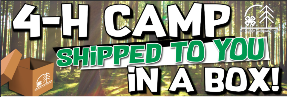 www.4HCampStore.com - Banner Image for Camp In A Box